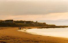 Warm walk by Pietro Bevilacqua on 500px  The beautiful beach of Portmahomack, Scotland