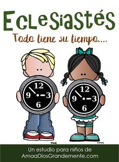 Nuestras Guías de niños de Ama a Dios Grandemente están hecha con mucho amor para que las mamás de habla hispana alrededor del mundo tengan una herramienta con la que abrir la Biblia con sus…