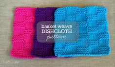 Get motivated to spring clean with this FREE knit dishcloth Pattern!