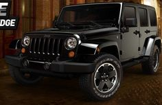 INTRODUCING THE LIMITED EDITION 2012 JEEP® WRANGLER UNLIMITED ALTITUDE EDITION  For those who move freely. Who go beyond at a moment's notice. Confident to take the path wherever it may lead. Or make one on their own. Uptown, downtown. Or just out of town. Seek the unique in Altitude Edition.