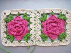 How to crochet a flower Rose for beginners - Access the Video Tutorial