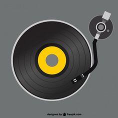 disco de vinil desenho - Pesquisa Google