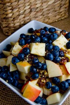 Anti-Oxidant & Omega Rich Fruit Salad
