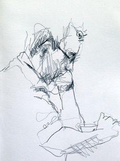 Coffee shop sketching. #Art #Sketching #Drawing