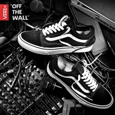 0f3a3261e3a34a Vans Womens Old Skool Trainers in Black and White. The Old Skool from Vans  is now within your reach with its classic low silhouette
