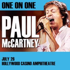 Enter to win one pair (2) tickets to see Sir Paul McCartney and a sound check)! Contest brought to you by WGN-TV!