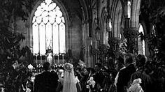 "9/11/1953 JFK & Jackie Ω secret ""Wedding at Cana"" ceremony at Church of ..."