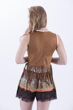 Lace Trim Shorts, Boho Shorts, Collection, Women, Fashion, Moda, Fashion Styles, Fashion Illustrations, Woman