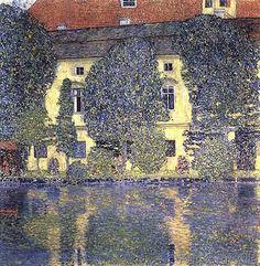 Gustav Klimt - The Schloss Kammer on the Attersee, 1910