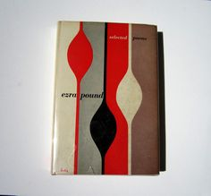 Alvin Lustig Design - Ezra Pound Selected Poems.