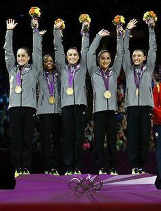 "US Gymnastics team ""The Fab 5"""