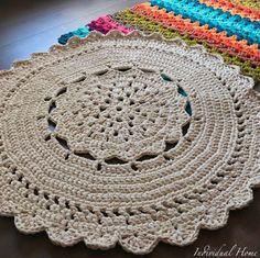 Crochet Rug Patterns, Rug Making, Elsa, Area Rugs, Blanket, How To Make, Decor, Knitted Rug, Crochet Doily Rug