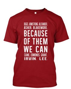 KAPsi Inspired - Because of Them, We Can Signature Tee – BECAUSE OF THEM, WE CAN