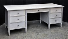Image result for whitewashed dressing table