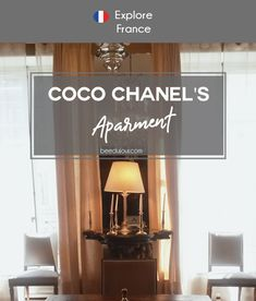 Coco Chanel's Apartment · Bee Du Jour