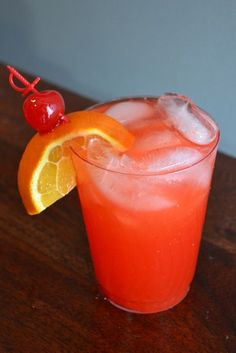 The Hurricane Cocktail..How a Hurricane should be made...not what you see as some restaurants