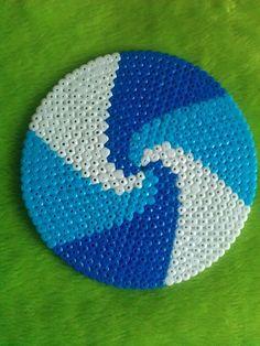 spiral pattern on circle template