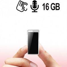 Ultrakleiner Voicerecorder mit langer Laufzeit. Abhörgeräte für die Hosentasche. Mini, Iphone, Run Time