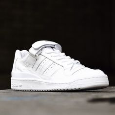 adidas Originals Forum Lo RS  White Logo Basketball d4735e56c