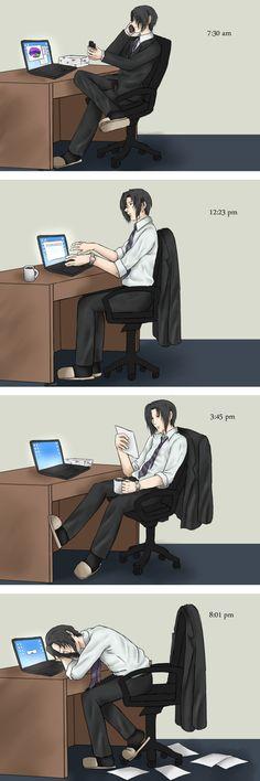 The day in the life of Lin by studdedangel.deviantart.com on @deviantART
