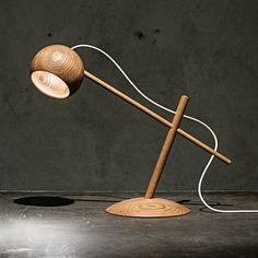 Oo table lamp by Norwegian designer Sverre Uhnger