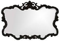 Amanda Erin 'Talida' Mirror, Black Lacquer Finish. $400 retail, $199 during the One Kings Lane sale. Love It!!!