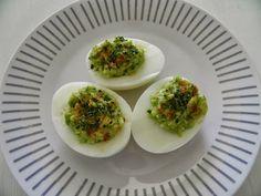 Recept van de week: Gevulde eieren met avocado