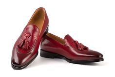 michelangelo red blade handcrafted shoes Tassel Loafers, Michelangelo, Penny Loafers, Italian Style, Blade, Tassels, Classy, Elegant, Stylish