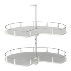 UTRUSTA Corner base cabinet carousel IKEA 25 year guarantee. Read about the terms in the guarantee brochure. £62