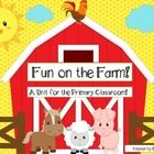 Get your lasso ready to pull this pack in!  This adorable farm unit addresses reading, writing, math and science and features adorable farm animals...