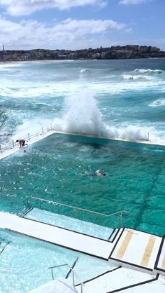 Icebergs pool in Bondi Beach, Austrlia. A must-see if you are going to sydney