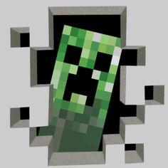 Minecraft Miners Only Wall Decals | Minecraft T-Shirt Designs | Wordans Canada