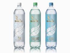 Water Packaging, Juice Packaging, Bottle Packaging, Bottle Mockup, Pop Bottles, Glass Bottles, Biscuits Packaging, Natural Mineral Water, Agua Mineral