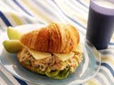 Chicken Salad Sandwich with Havarti Cheese