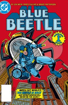 SHOWCASE PRESENTS: BLUE BEETLE Trade paperback Cover by PARIS CULLINS and BRUCE PATTERSON