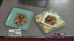 Black Bean & Mango Salsa #recipe from WLUK FOX 11 Good Day Wisconsin Cooking with Amy Hanten. #recipes #video