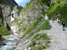 Lechtal - Holzgau Simms Waterval