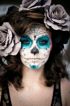 Day of the dead girls costume | ... by Outi Pyy :::: DIY La Catrina Day of the Dead Halloween costume