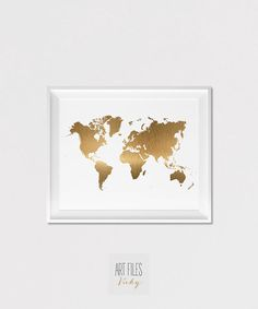 Stunning Weltkarte drucken Poster Wanddekoration Travel Poster