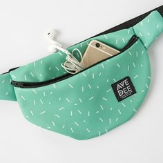 Mint Fanny Pack | Brit + Co. Shop | DIY Online classes, DIY kits and creative products from makers you'll love.