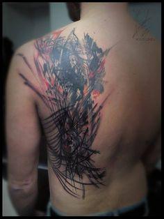 #wildlinestattoo #dodactattoo #dododeer #dodac #abstract #abstracttattoo #inked #ink #tatooboy #tattrx #original #originaltattoos #freehandtattoo #watercolor #watercolortattoo #followme #art #pilsen #czechtattoo #divadlopodlampou #cheyennetattooequipment #eternalink #pantheraink Line Tattoos, Tatoos, Czech Tattoo, Free Hand Tattoo, Tattoo Equipment, Original Tattoos, Watercolor Tattoo, Tatting, Ink