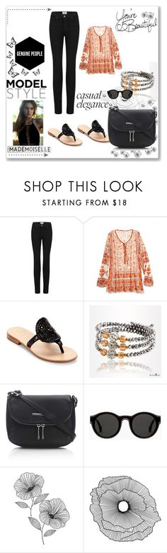 """Tell me that you love me"" by junglequeen84 ❤ liked on Polyvore featuring Paige Denim, Calypso St. Barth, Jack Rogers, Wallis, Mykita, WallPops, Home Decorators Collection and LIST"