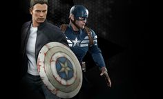 Share this with your friends and receive a $15 promo code. Click here to write your message. Marvel Captain America and Steve Rogers Sixth Scale Figure Set