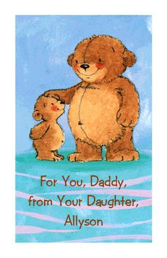 From Daughter Father's Day Printable Cards
