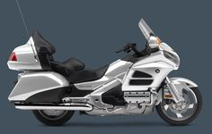 2013 Honda Gold Wing Motorcycle with ABS in Light Silver Metallic