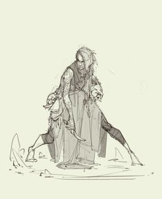 Another concept to the series, low-level shaman character for tabletop miniature. Fantasy Character Design, Character Concept, Character Inspiration, Character Art, Concept Art, Story Inspiration, Character Ideas, Pose Reference Photo, Drawing Reference Poses