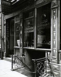 Lebanon Restaurant (Syrian), 88 Washington Street, Manhattan.