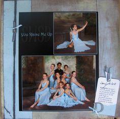 Modern dance recital - Scrapbook.com