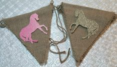 Choose colors+images! Horse Pony horseshoe sheriff badge hat boot burlap banner Rodeo Western cowgirl cowboy birthday party baby shower Wild West gender reveal retirement anniversary quinceanera Sweet Sixteen wedding bridal bachelor bachelorette school mascot pink and gold decor ClassyFabCharm
