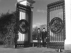 Lavender Hill Mob, The - Gunnersbury Gates, entrance to Gunnersbury Park, West London.